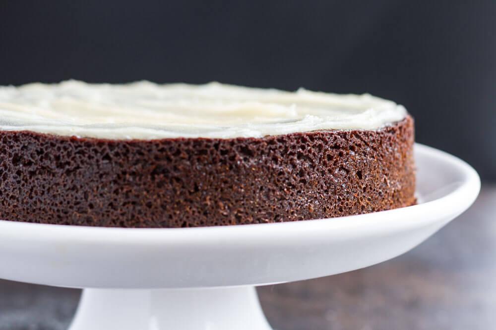 Triple Ginger Cake (gluten free| grain free) |||| www.savorylotus.com