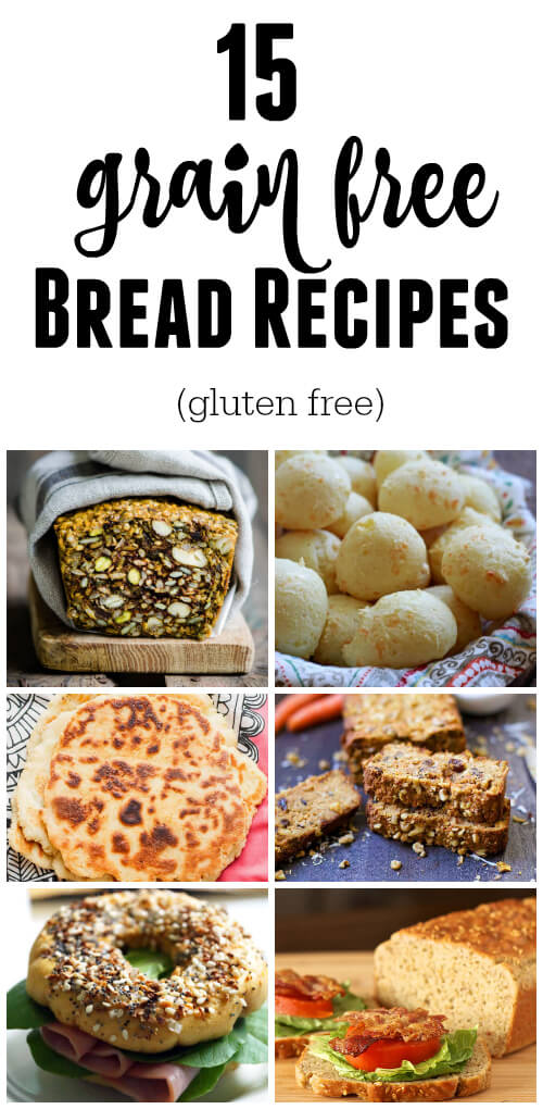 15 Grain Free Bread Recipes (gluten free) - www.savorylotus.com