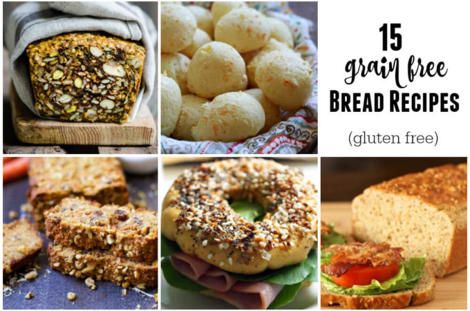 15 Delicious Grain Free Bread Recipes