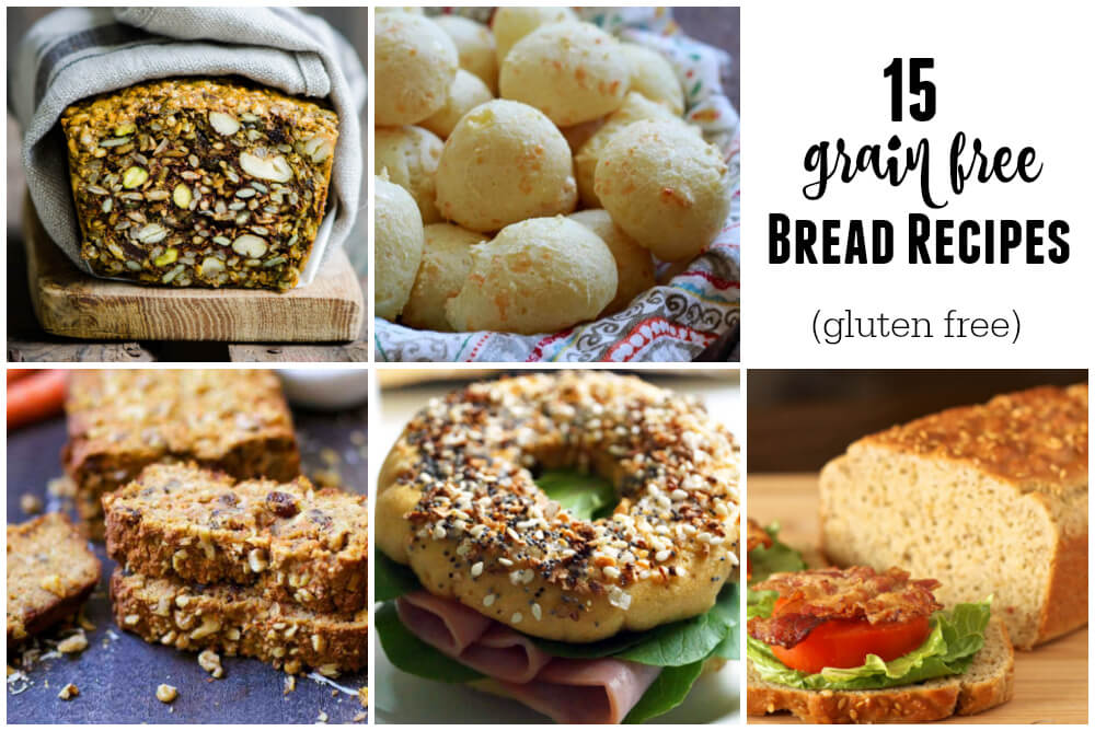 15 Grain Free Bread Recipes (gluten free) | www.savorylotus.com