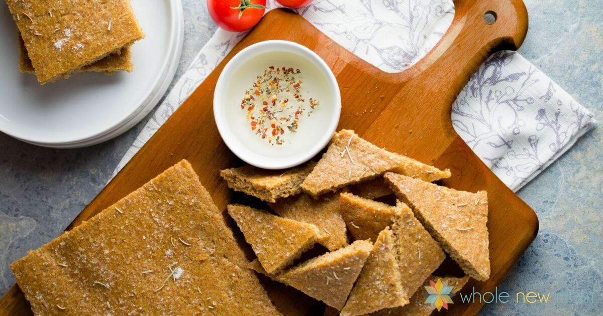 Focaccia Flax Bread