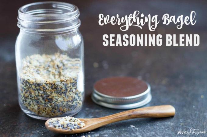 Everything Bagel Seasoning Blend | www.savorylotus.com