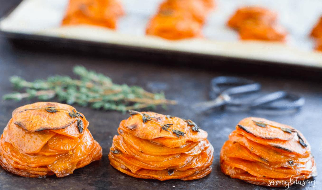 Mini Sweet Potato Pomme Anna
