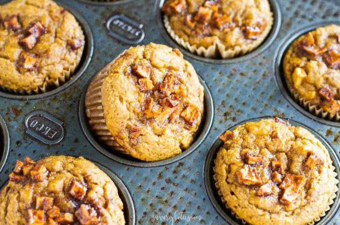 Pumpkin Apple Muffins (gluten free and paleo)