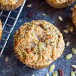 Loaded Breakfast Muffins (gluten free and paleo) | www.savorylotus.com