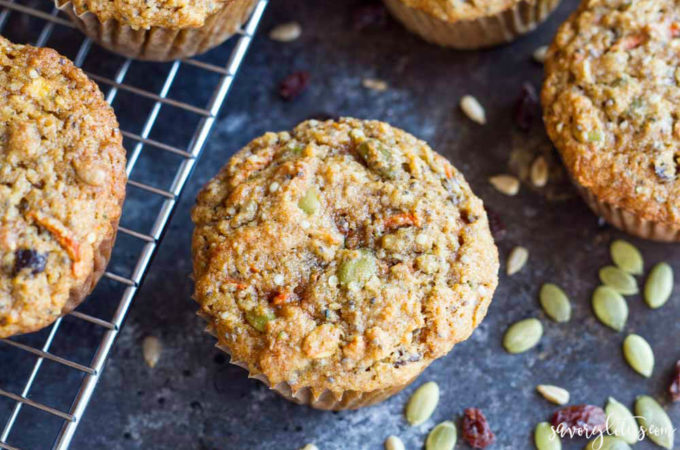Loaded Breakfast Muffins (gluten free and paleo)