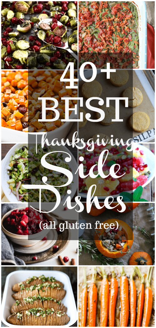 40 Best Thanksgiving Side Dishes (gluten free) - www.savorylotus.com