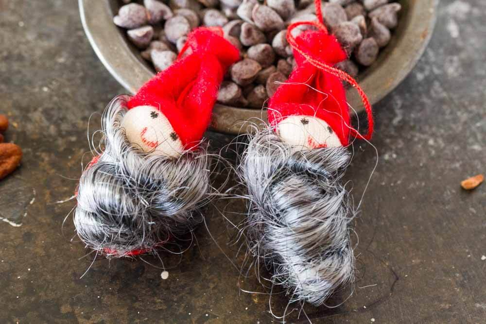 Chocolate Cranberry Pecan Skillet Cookie ~ www.savorylotus.com