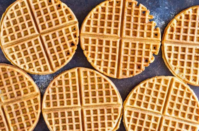 The Best Crispy Waffle Recipe  (gluten free, nut free, and paleo)