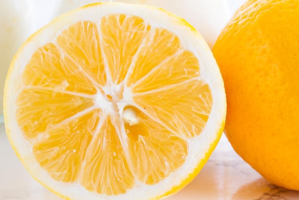 Meyer Lemon Pudding (dairy free) \\ www.savorylotus.com