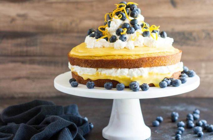 Coconut Flour Lemon Cake (gluten free)