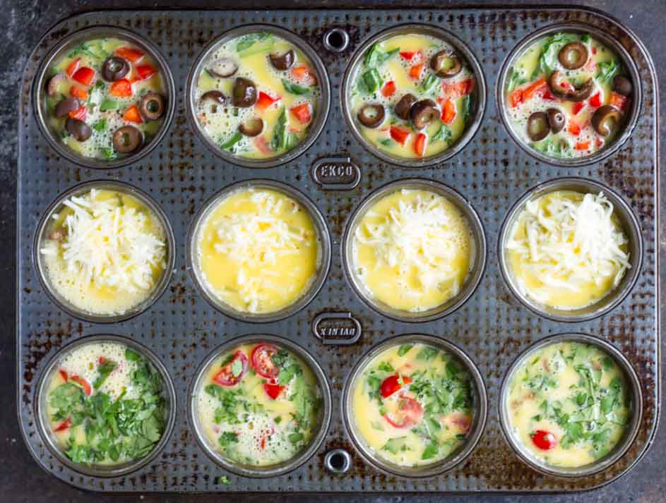 Taco Egg Muffins \ \ www.savorylotus.com