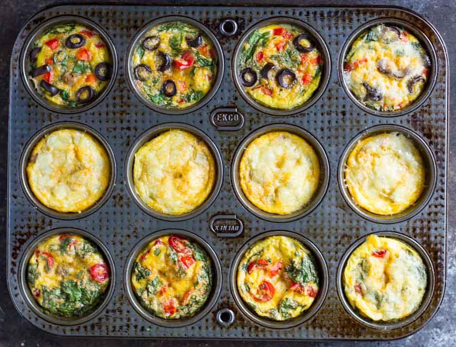Taco Egg Muffins \\\ www.savorylotus.com
