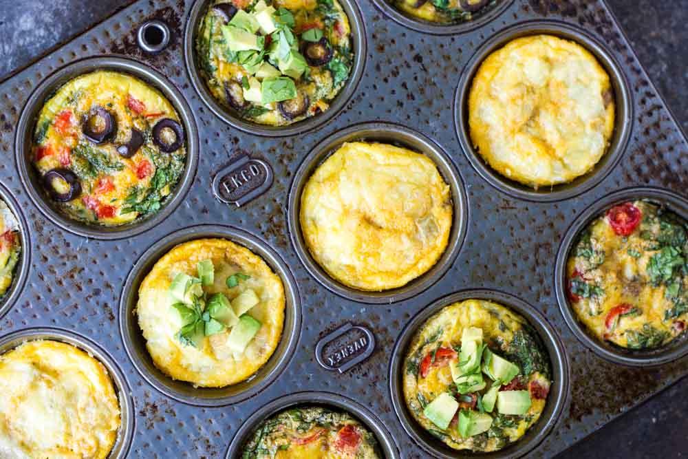 Taco Egg Muffins ~~ www.savorylotus.com