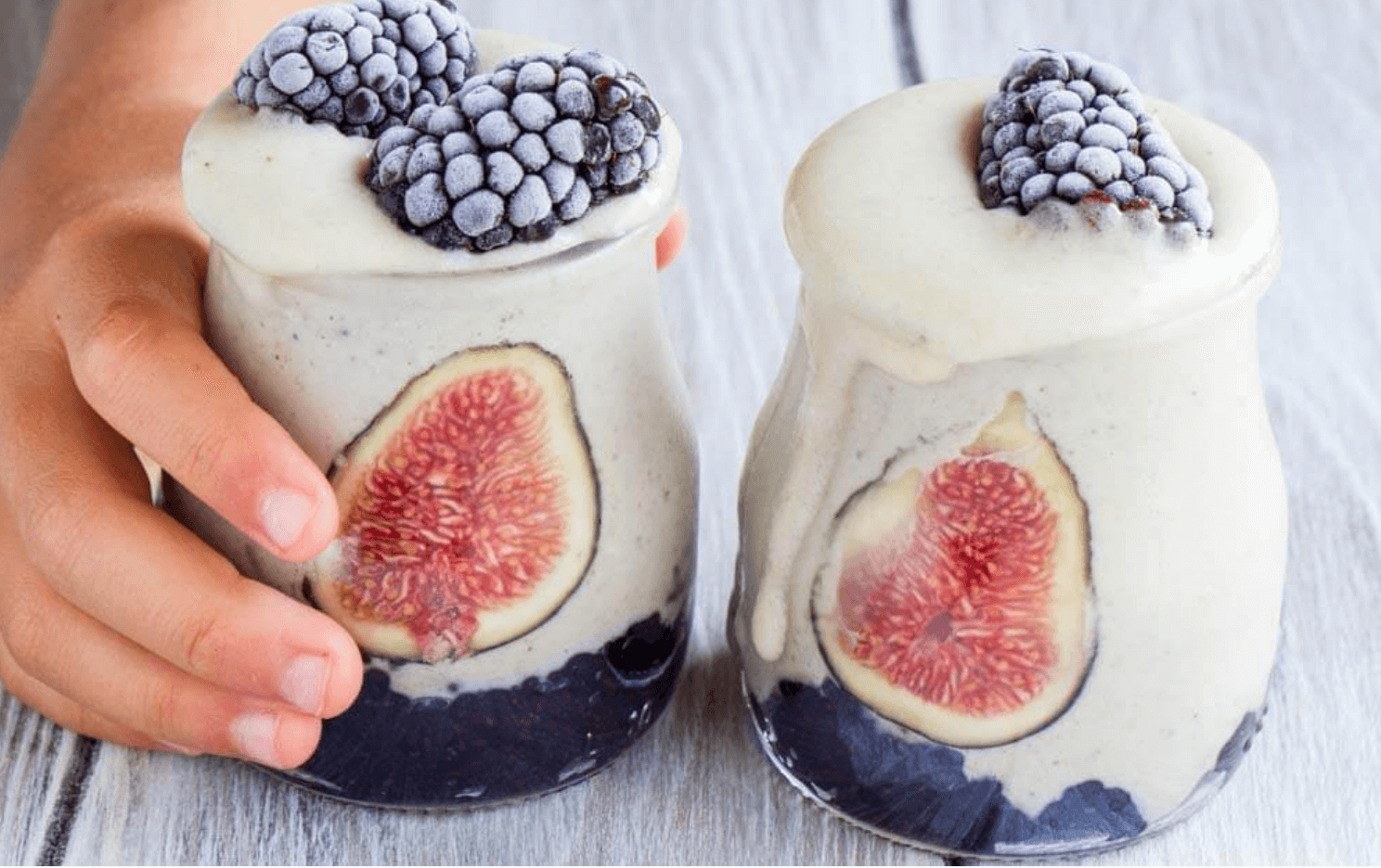Creamy Cashew Cardamom Fig Smoothie