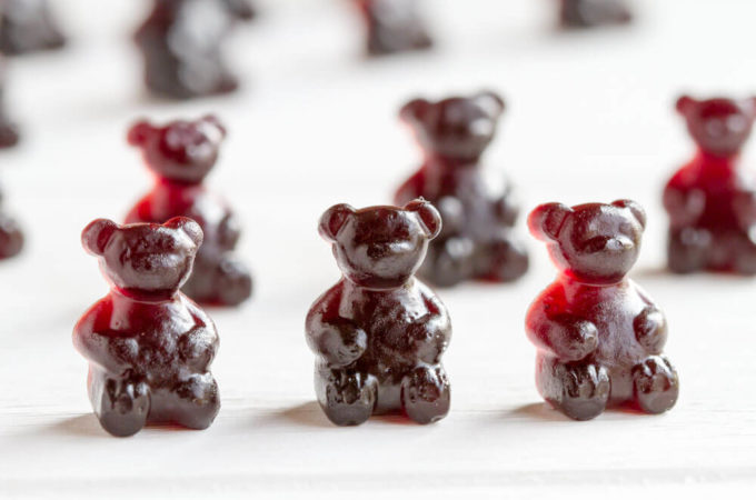 Immune Boosting Elderberry Gummy Bears