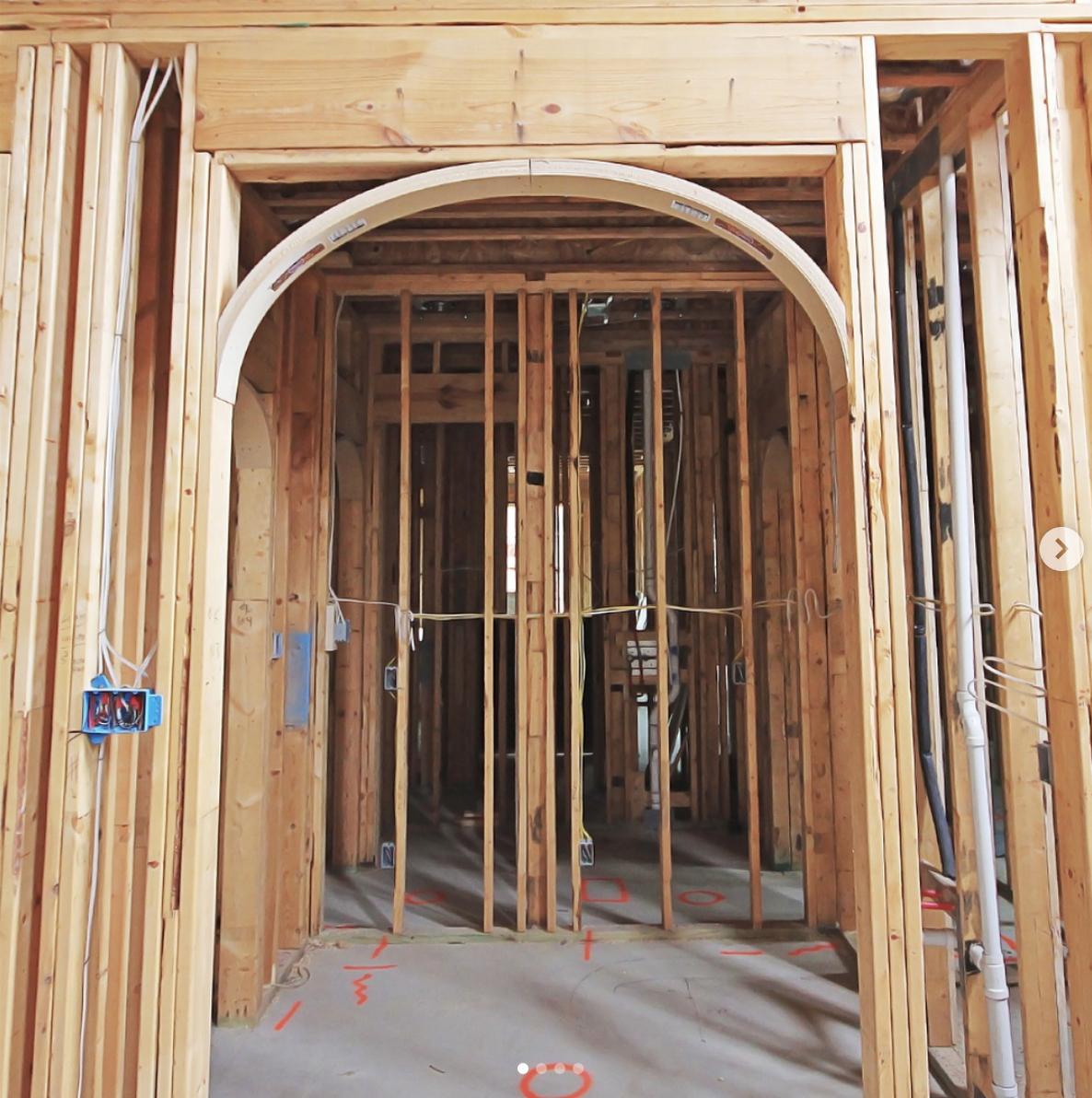 archway arched door