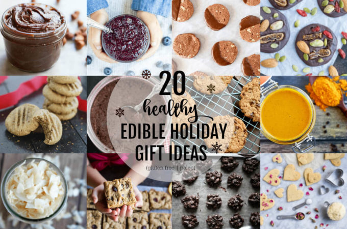 20 Healthy Edible Holiday Gift Ideas