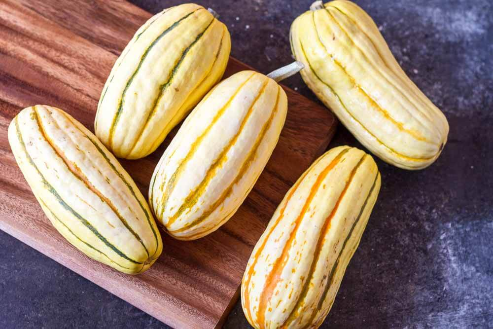 How to Cook Delicata Squash (with 4 flavor combinations) -- www.savorylotus.com