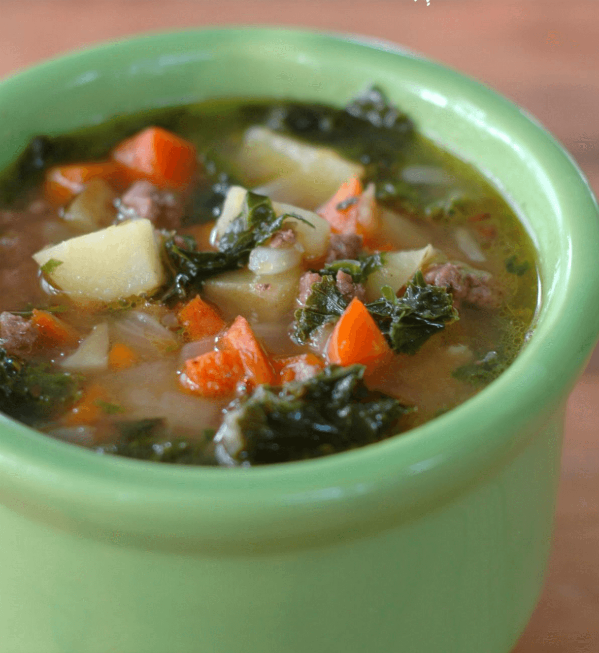 30 Easy Whole30 Soup Recipes | beef and kale soup