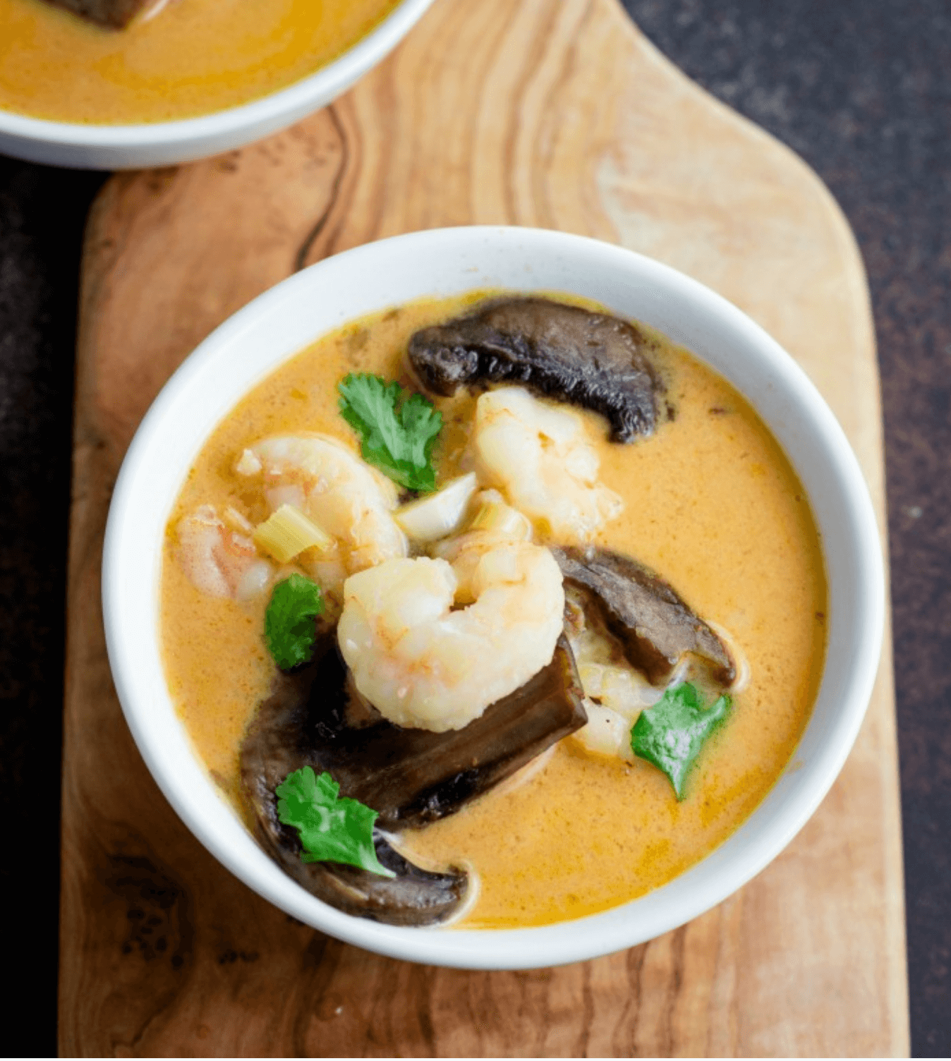 30 Easy Whole30 Soup Recipes | keto thai shrimp