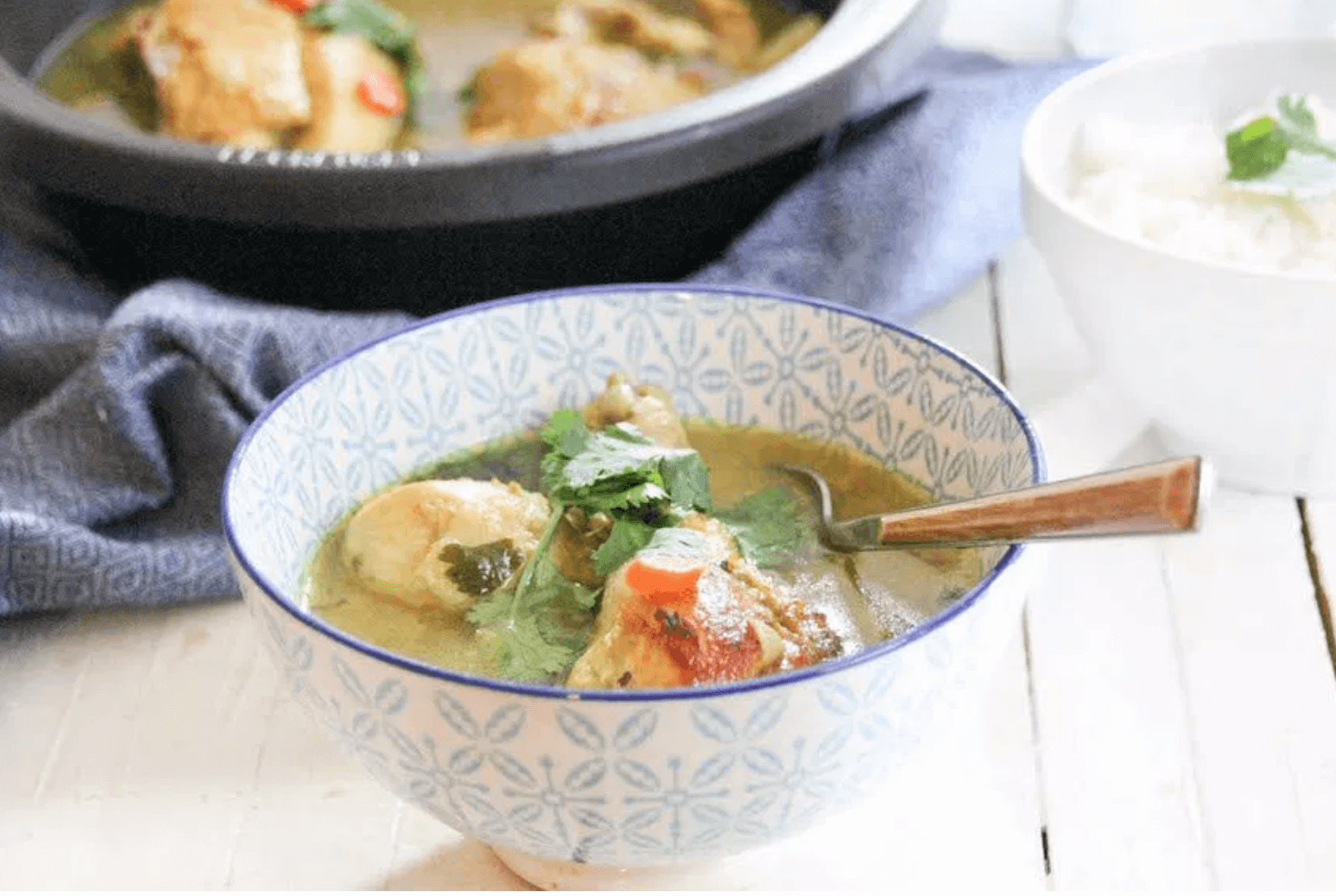 30 Easy Whole30 Soup Recipes | warming coconut chicken curry