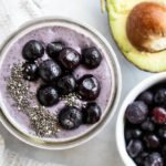 Blueberry Collagen Smoothie | www.savorylotus.com